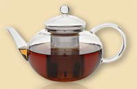 Glass Teapot for sale
